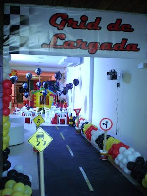 SPACE FESTAS BLOG: Festa Carros Disney