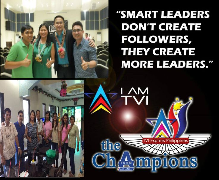 create more leaders...