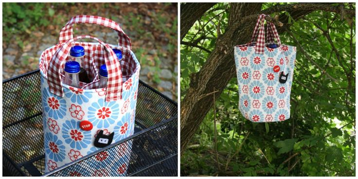 Get out your Google translate and try Claudia's awesome Cooler Tote!  Machen und Tun: Keep cool! Tutorial Kleine Kühltasche mit Insul-Bright