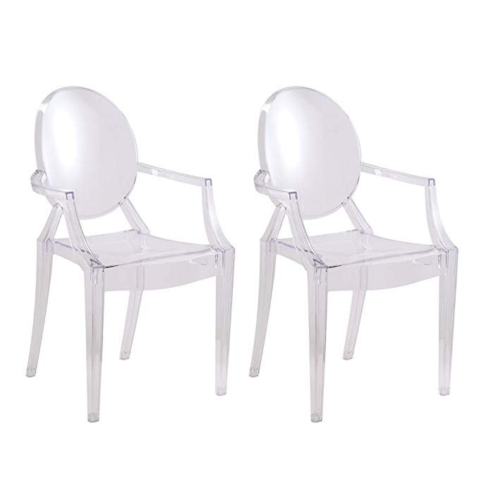 Super Designer Modern Clear Arm Chair Set Of 2 Review Dining Ocoug Best Dining Table And Chair Ideas Images Ocougorg