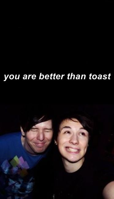 dan and phil lock screen tumblr - Google Search