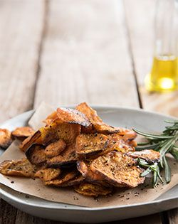 BAKED SWEET  POTATO CRISPS - Snack as part of the Checkers 5-day diabetic meal plan