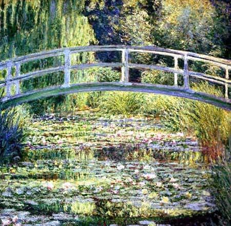 모네의 다리(1899)_모네