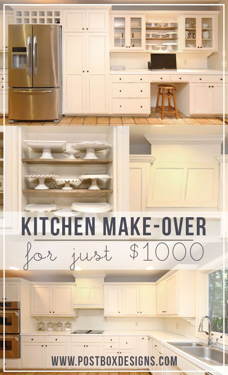 How i remodeled my kitchen for 1000 in 10 steps part 1 1000 in home and read more - Easy steps for a kitchen makeover ...