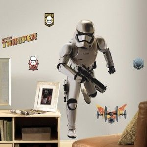 RoomMates RMK3150GM Star Wars EP VII Storm Trooper P&S Giant Wall Decal