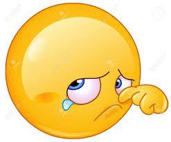 """Crying/sad Smiley.   (no words - """"Risultati immagini per auguri di buona pasqua originali"""")     (Pinned also to GT/MS - *Sorry/sympathy)  --Smiley Face"""