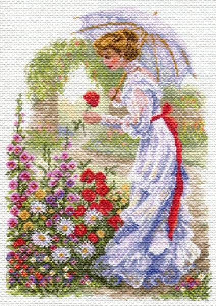 Канва с рисунком Матренин посад 1700 В цветущем саду
