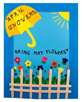 April showers bring may showers http://www.hyglossproducts.com/Spring-Crafts-s/312.htm