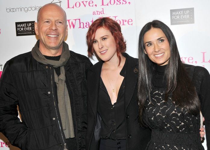 Bruce Willis and Demi Moore's Daughter Rumer Shares Behind-the-Scenes 'DWTS' Photo