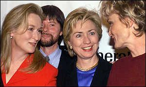 Meryl, Ken Burns, Hillary Clinton and Jessica Lange ...