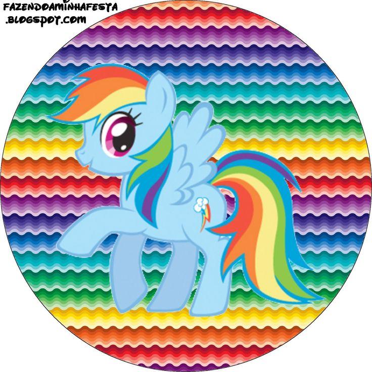 Imprimibles de My Little Pony 5. | Ideas y material gratis para fiestas y celebraciones Oh My Fiesta!