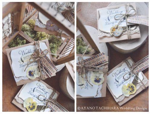 旅する招待状 by AYANO TACHIHARA Wedding Design