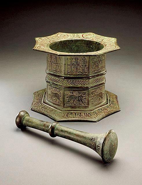 Irani pestle and mortar ~ 800 years old