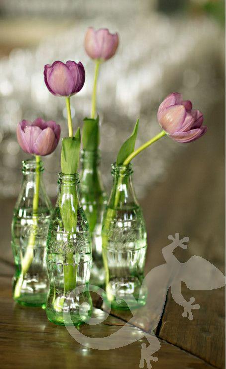 Engagement Party, I said yes, Joburg chic, coke bottle tulips