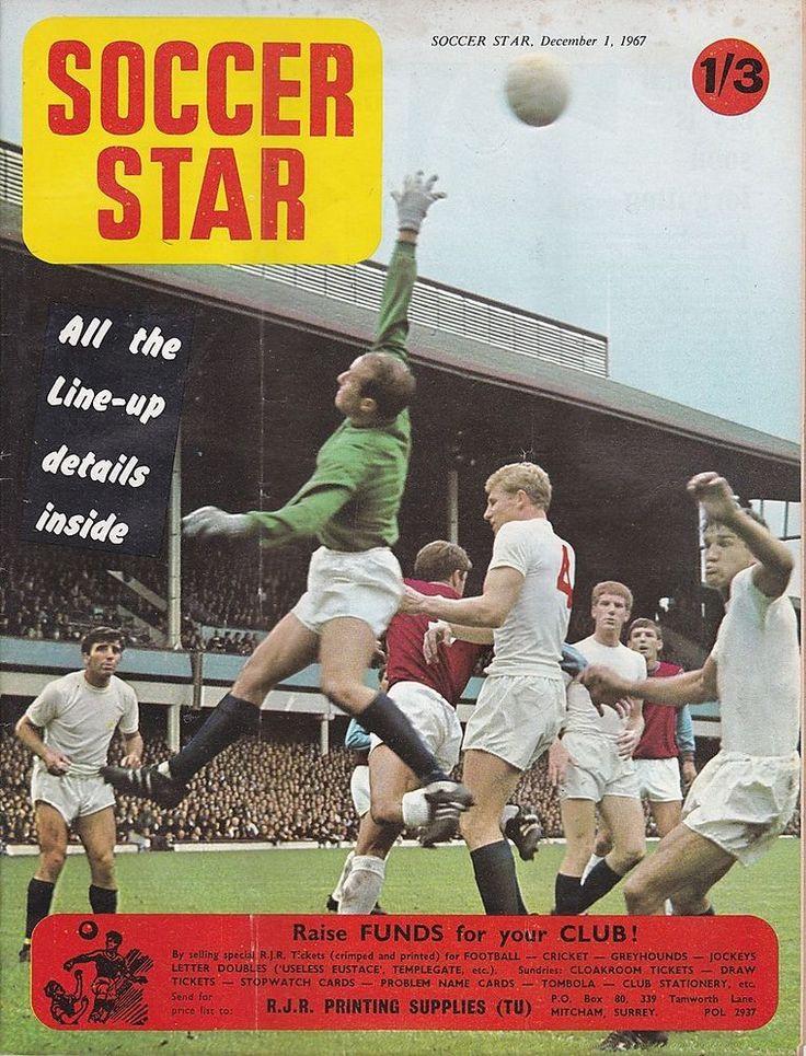 SOCCER STAR VOL 16 NO 12 DECEMBER 1 1967 SUNDERLAND/ALDERSHOT