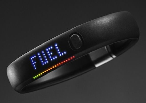 the nike fuel band because it can act as a watch but it also can help me track my physical activity I found out about this from an online Ad.