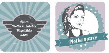 Plottermarie - Versand nach DE €3,50 (Stand 12/2014)