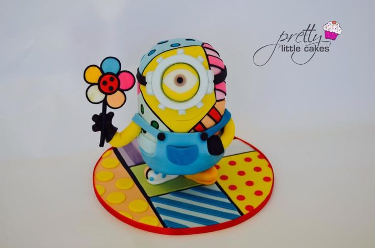 Special edition minion! - Cake by Rachel.... Pretty little cakes x