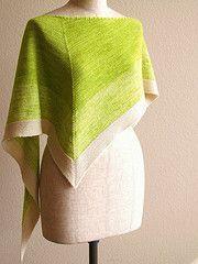 Ravelry: Spring Kerchief pattern by Sachiko Uemura - free