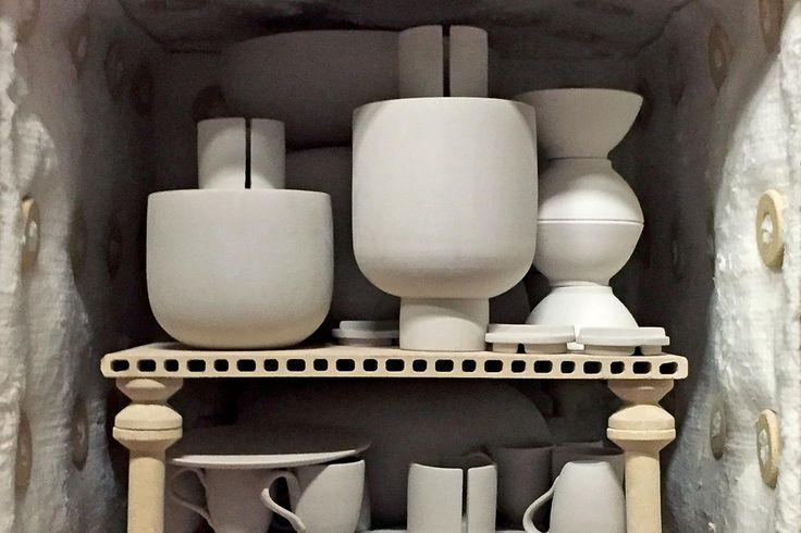 Making of ceramic in Nove