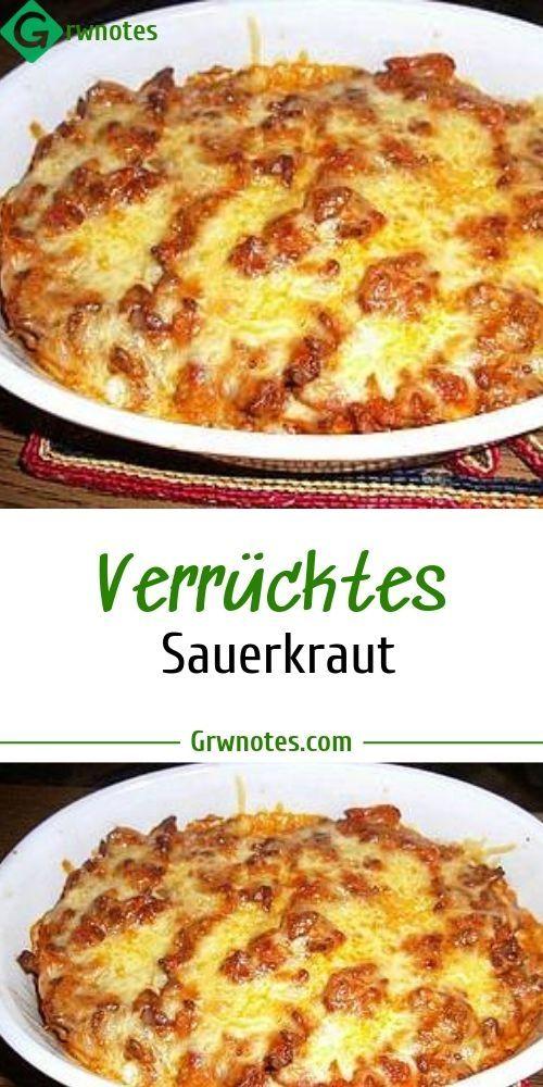 Zutaten : 500 g Hackfleisch 1 Dose/n Sauerkraut 2 …