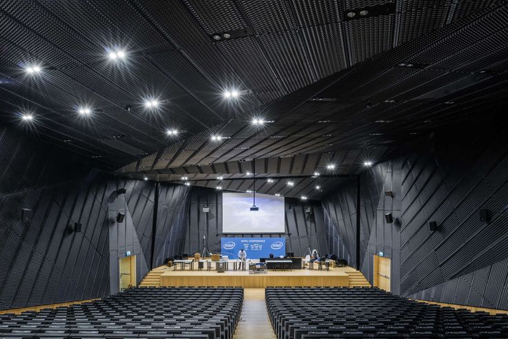 'The Katowice International Conference Centre project situated nearby the Spodek arena erected in 1962 posed a challenge in both urban planning and architect...