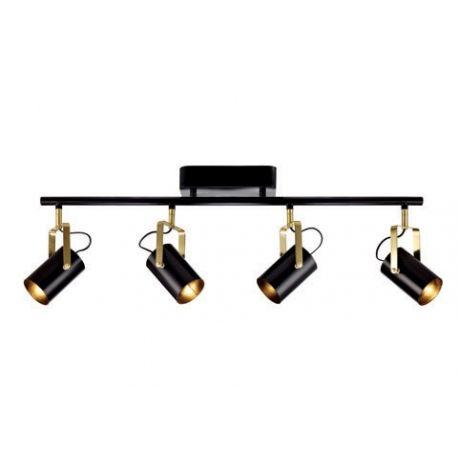 Jeśli chcesz dodać szyku i oryginalności swojemu wnętrzu, to lampa Arkitekt będzie doskonałym zakupem. Cztery halogenowe reflektory osadzone na szynie z regulacja kąta padania światła, pozwolą oświetlić dowolne miejsce naszego wnętrza. Lampa sprawdzi się jako główne oświetlenie w salonie, sypialni, kuchni, lub biurze.
