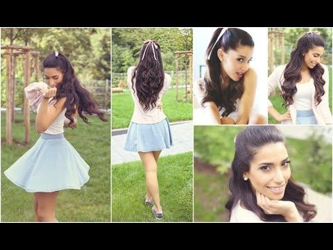GET THE LOOK: ARIANA GRANDE Inspired Hair, MakeUp & Outfit ...
