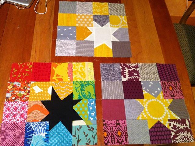 96 best Stitch and flip images on Pinterest | Quilt patterns ... : crazy star quilt pattern - Adamdwight.com
