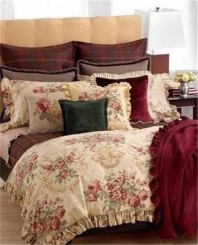 High Quality Ralph Lauren Grosvenor Square Floral Queen Duvet Comforter Cover Set New