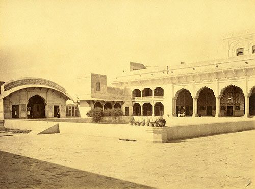 Ranjit Singh's palace in Lahore Fort
