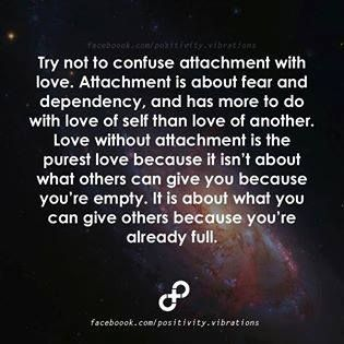 Love Without Attachment Is The Purest Love  detachment is about love and independence