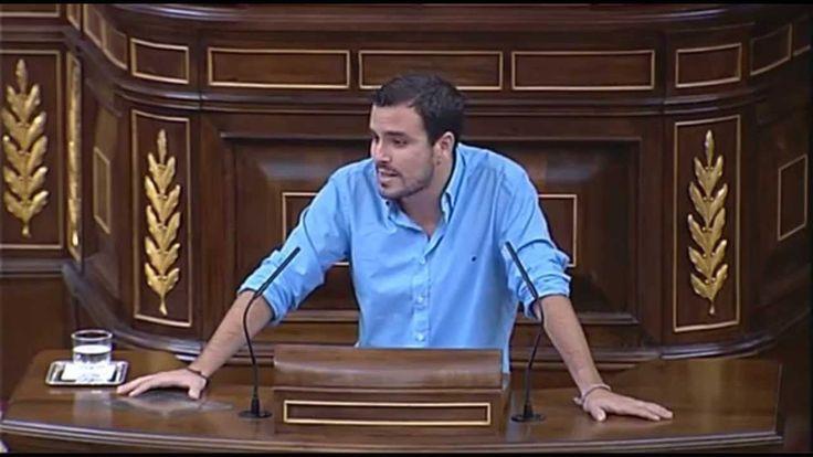 """Alberto Garzón: """"República es más democracia, monarquía es corrupción"""""""