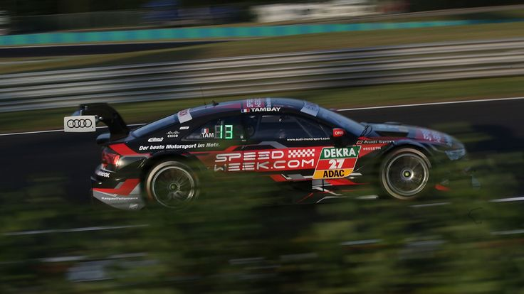 ADRIEN TAMBAY #27 Audi Sport Team Rosberg