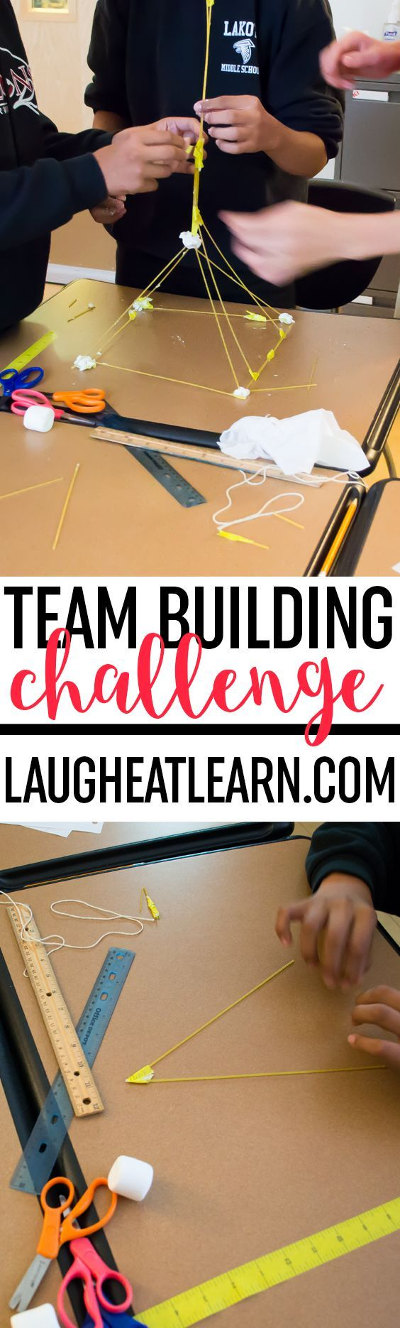 The Marshmallow Challenge is the perfect team building activity for any grade level! Snag this freebie to get this activity started in your classroom!