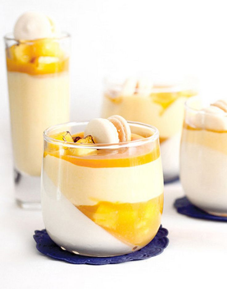 And a pretty Sunday brunch dessert recipe you can make at home. The Mango Panna Cotta made easy with Mango Mania tea.