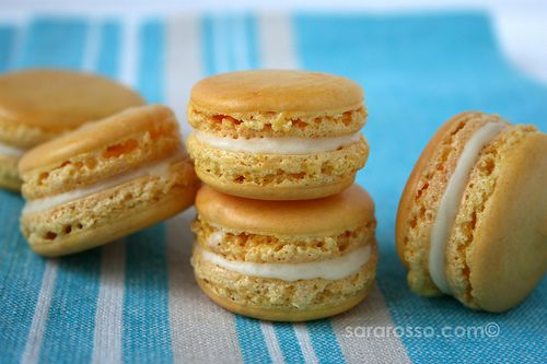 French Macarons with Limoncello White Chocolate Ganache | MACAROONS ...
