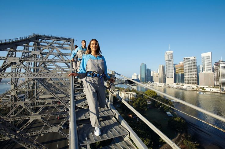 10 of the most extreme things you can do in Queensland -Story Bridge Climb #brisbaneanyday #thisisqueensland