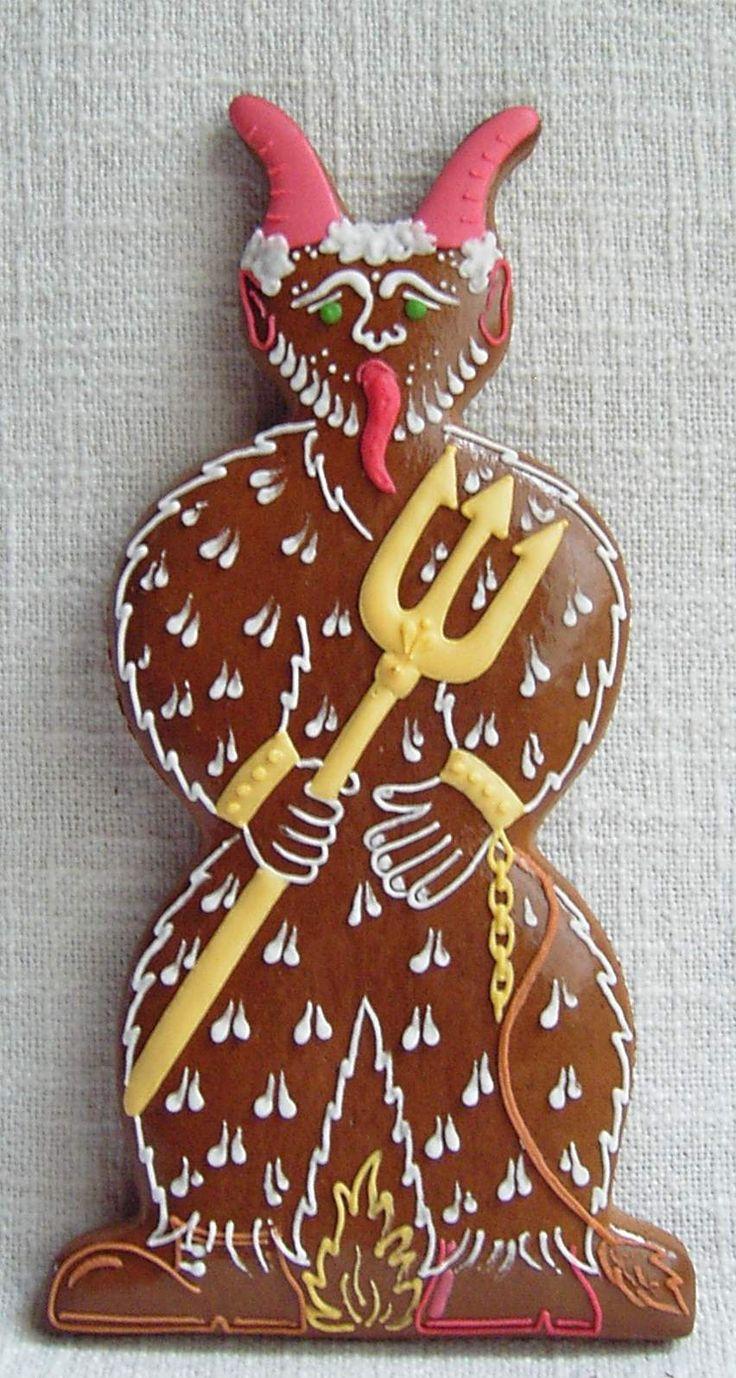 Krampus cookie