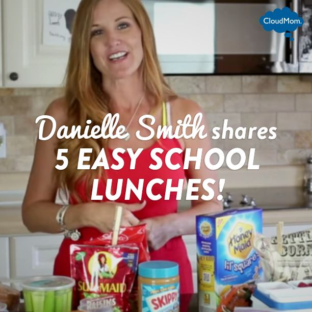 5 Easy School Lunches   CloudMom