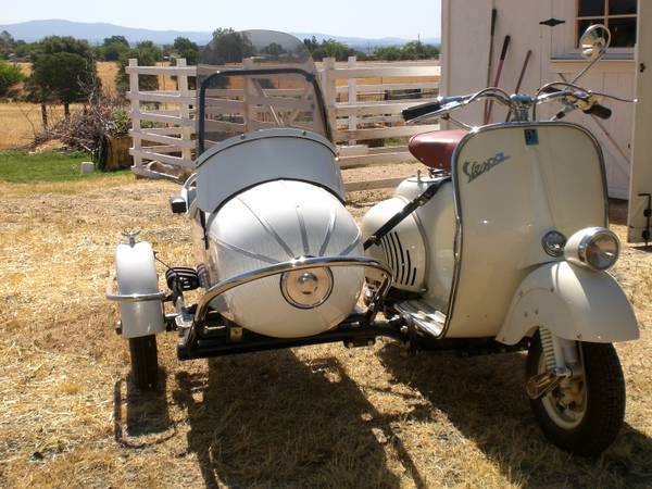1966 vespa sidecar... nothing else.
