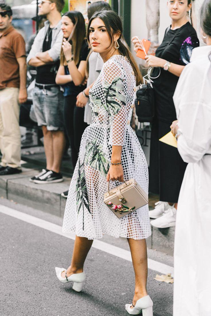 Street Style Milan Fashion Week, septiembre de 2016 © Diego Anciano