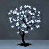 Decorative White Rose Bonsai Style Tree Light with 32 Warm White LED's - 45cm: Amazon.co.uk: Lighting