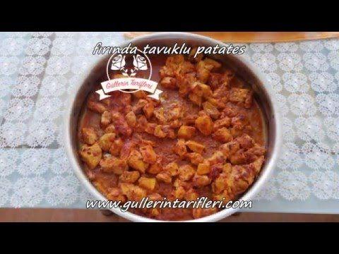 Fırında Tavuklu Patates   Güllerin Tarifleri