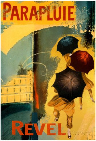 Parapluie Revel Abstract Art Print Poster Posters at AllPosters.com