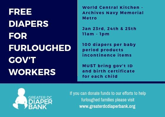 Greater DC Diaper Bank will be distributing free diapers