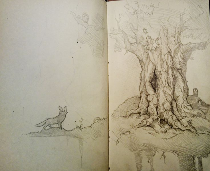 This is one of my drawings from sketchbooks.
