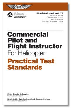 Commercial Pilot & CFI for Helicopter - Practical Test Standards (PTS)