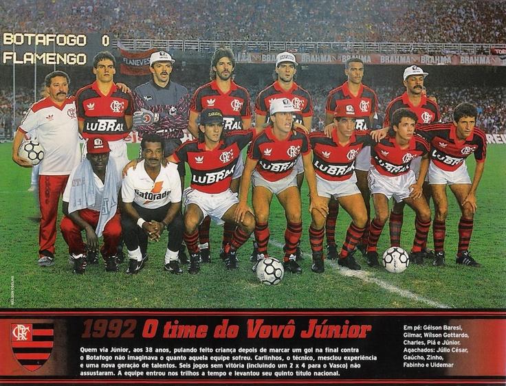Pentacampeão Brasileiro. 1992. Eu tava lá.