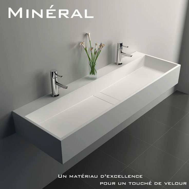 1000 images about meuble salle de bain on pinterest prague minerals and composition for Plan vasque salle de bain